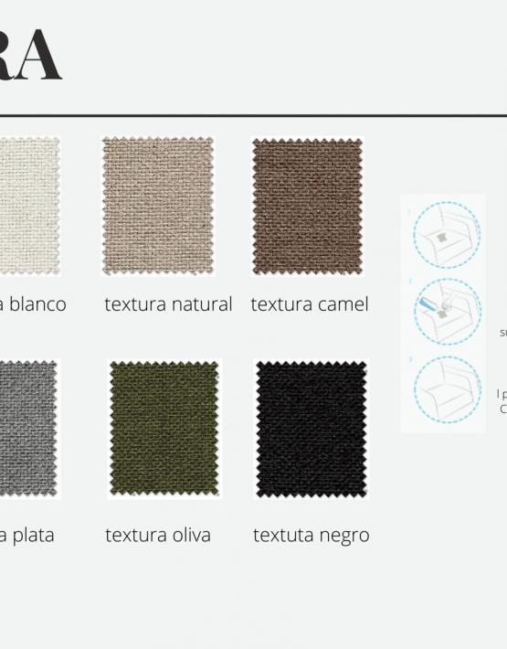 tela-textura-sillones-de-lactancia